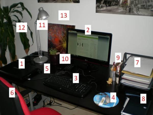 Oficina diseccionada
