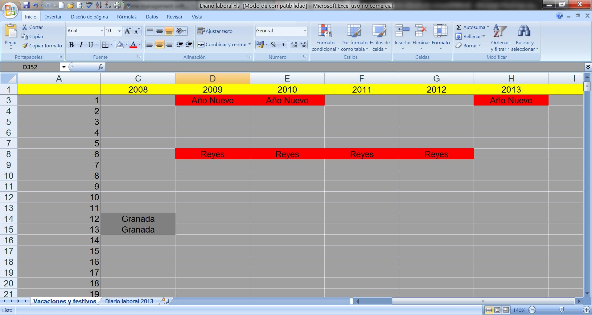 Gesti n eficaz del tiempo de trabajo crea un diario - Tiempo en puertollano por horas ...